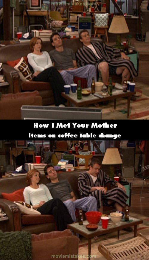 How I Met Your Mother mistake picture