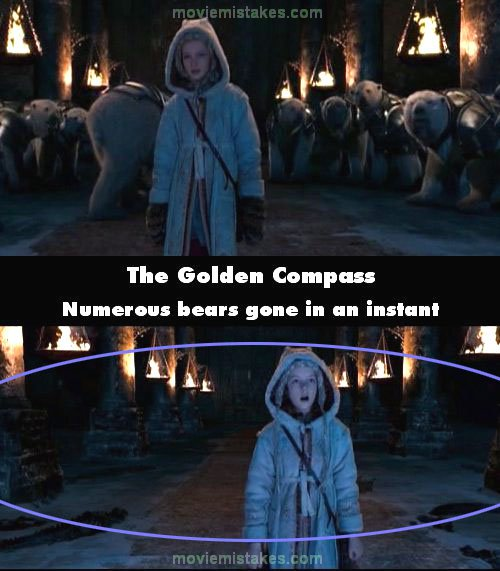 The Golden Compass mistake picture