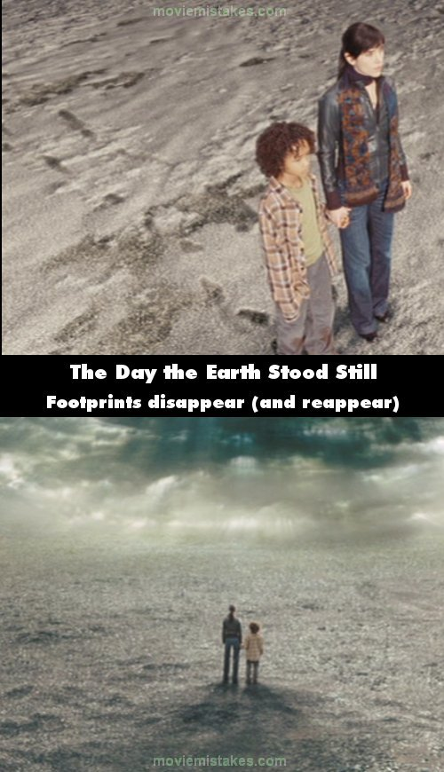 The Day the Earth Stood Still mistake picture