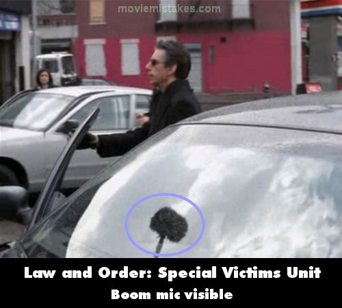 Law & Order: Special Victims Unit mistake picture
