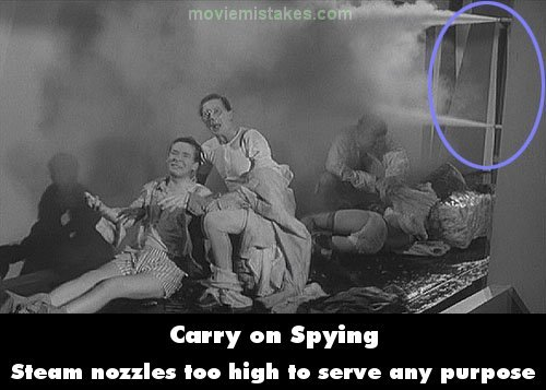 Carry on Spying mistake picture