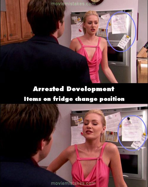 Arrested Development mistake picture