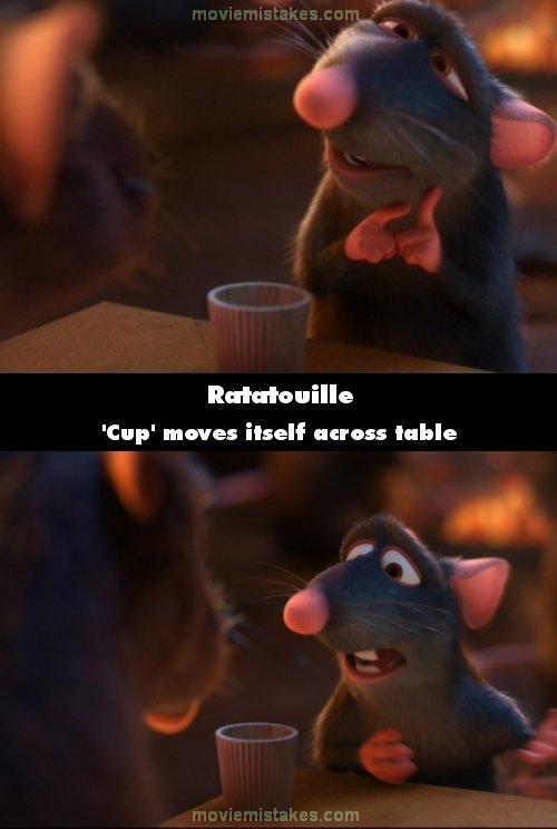 Ratatouille movie mistake picture 4
