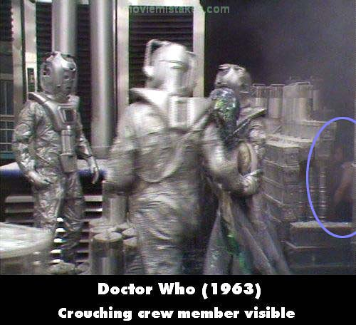 Doctor Who mistake picture