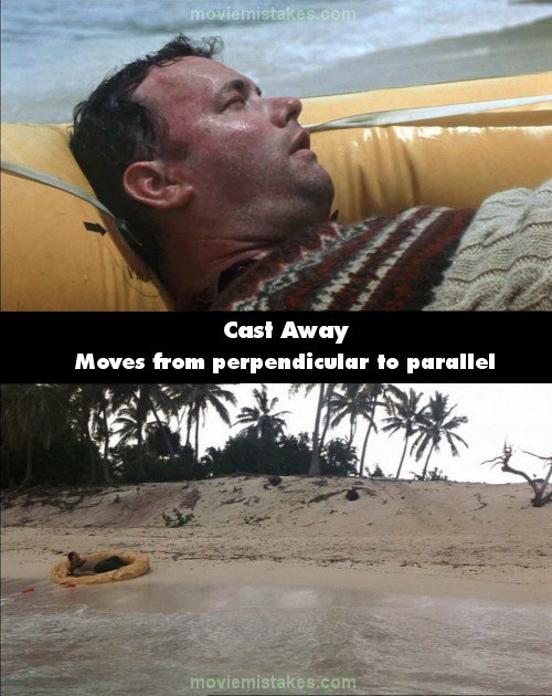 cast away 2000 movie mistake picture id 1510