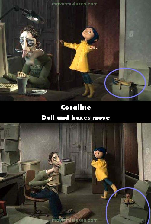 Coraline (2009) movie mistake picture (ID 152171)