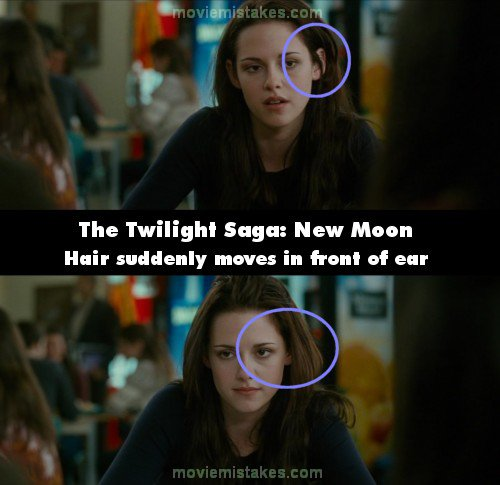 The Twilight Saga New Moon 2009 Movie Mistake Picture
