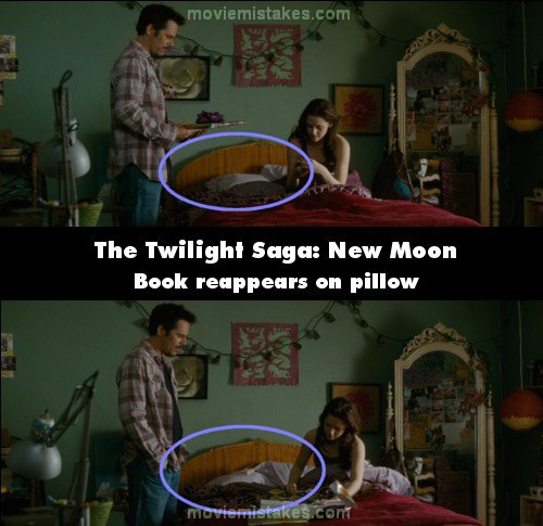 The Twilight Saga: New Moon mistake picture