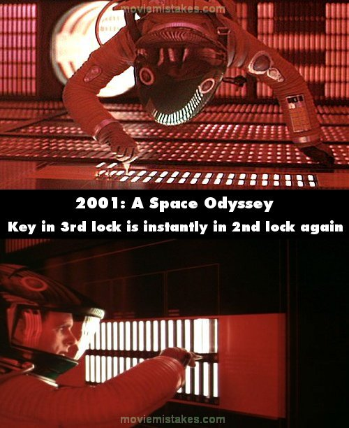 2001: A Space Odyssey mistake picture