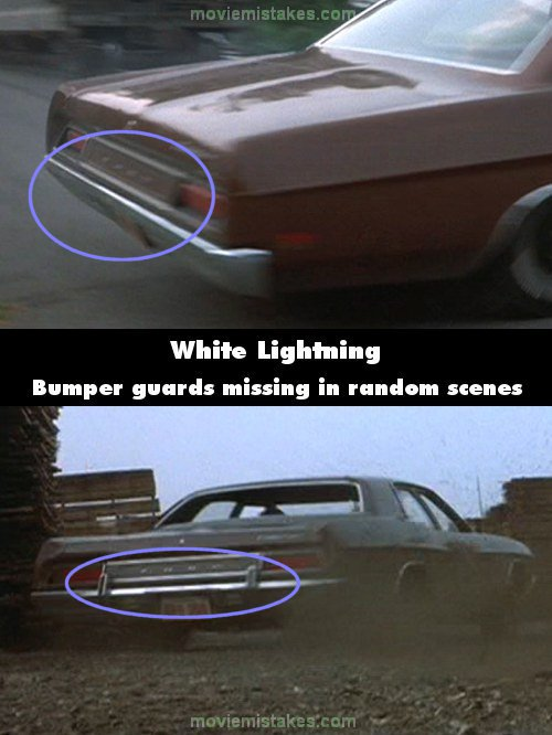 White Lightning mistake picture