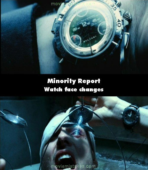 Minority Report mistake picture