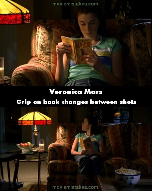 Veronica Mars mistake picture