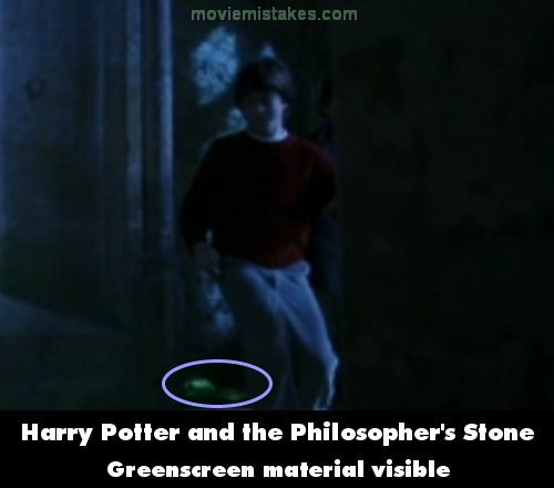 Harry Potter And The Philosophers Stone 2001 Movie Mistake
