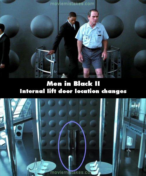 Men in Black II mistake picture