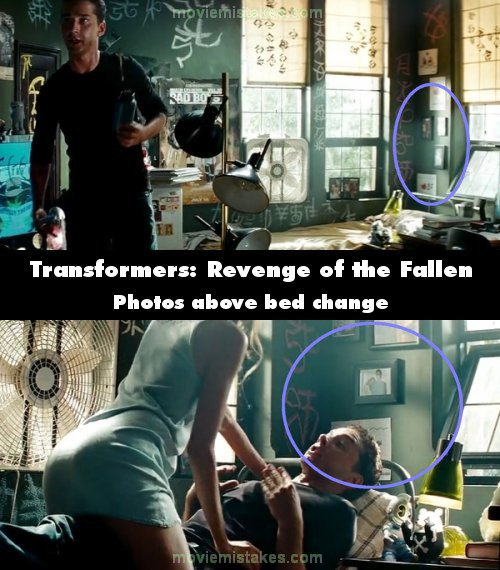 Transformers: Revenge of the Fallen movie mistake picture 21