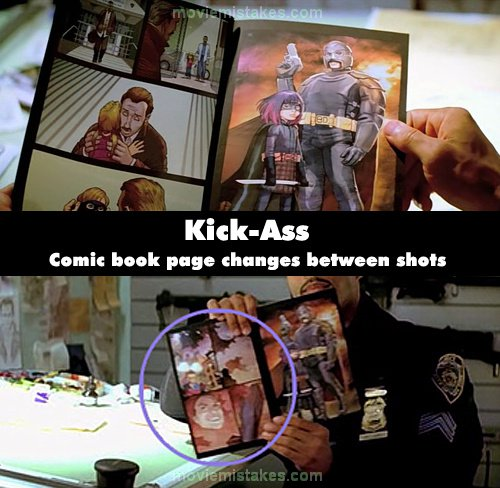 Kick-Ass mistake picture