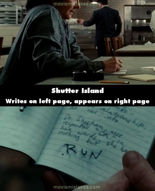 Shutter Island mistake picture