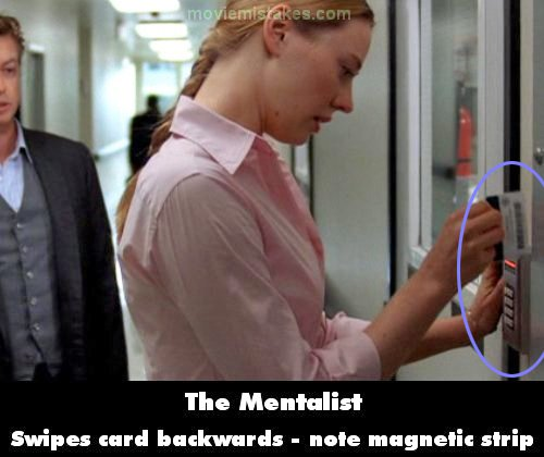 The Mentalist mistake picture