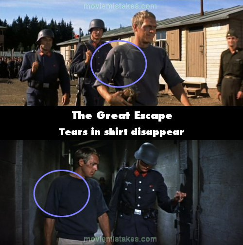 The Great Escape mistake picture