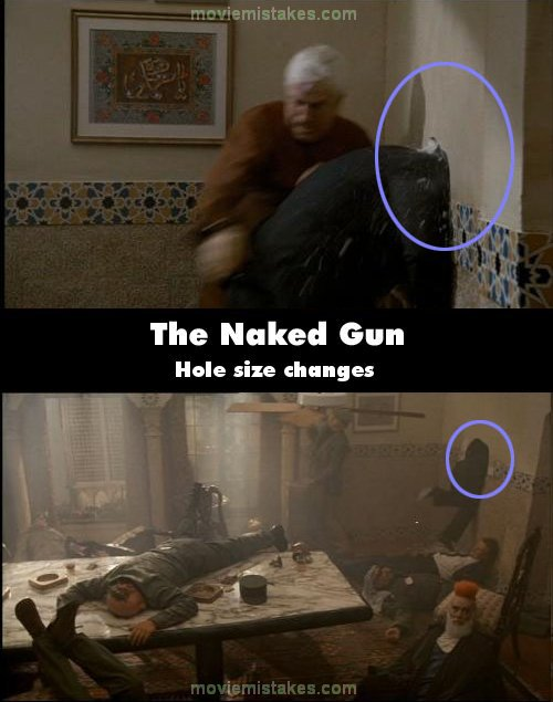 The Naked Gun Movie Mistake Picture 6