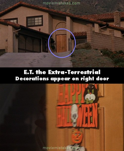 E T The Extra Terrestrial Movie Mistake Picture 3