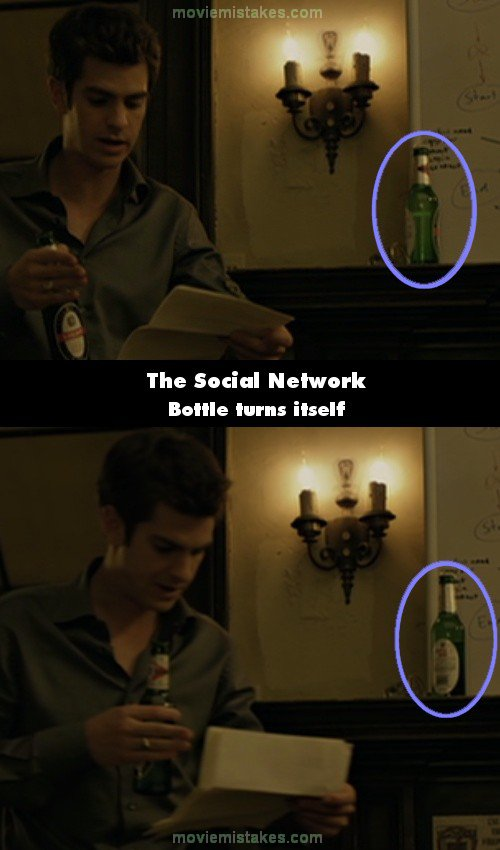 The Social Network mistake picture