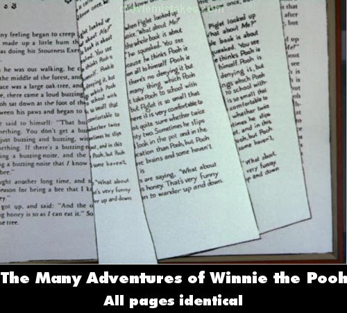 The Many Adventures of Winnie the Pooh picture