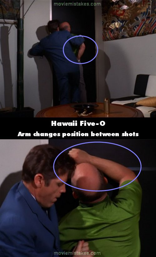 Hawaii Five-O mistake picture