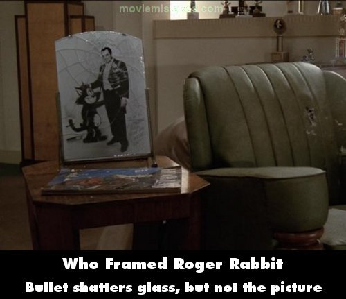 Who Framed Roger Rabbit movie mistake picture 10