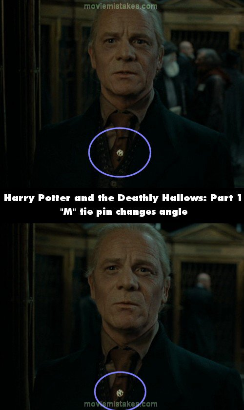Harry Potter and the Deathly Hallows: Part 1 mistake picture