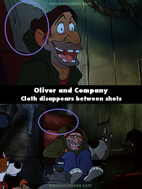 Oliver and Company mistake picture
