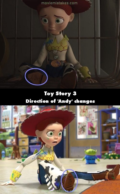 Toy Story 3 mistake picture