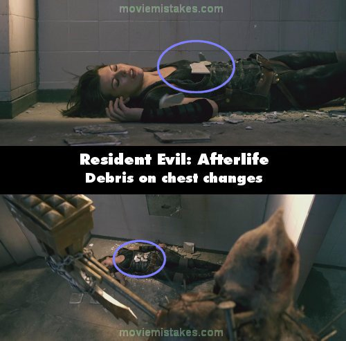 Resident Evil: Afterlife mistake picture