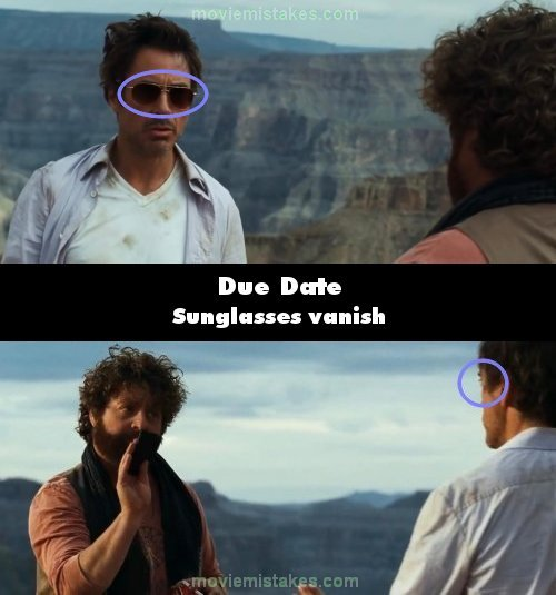 Due Date 2010 Movie Mistake Picture Id 166621