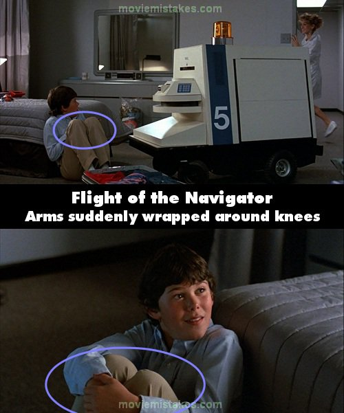 Flight of the Navigator mistake picture