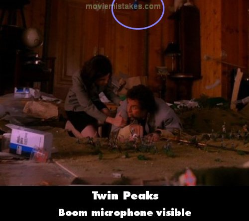 Twin Peaks mistake picture