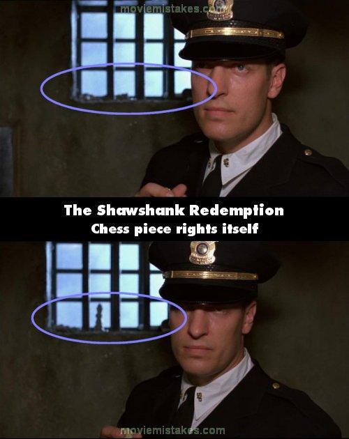 The Shawshank Redemption movie mistake picture 5
