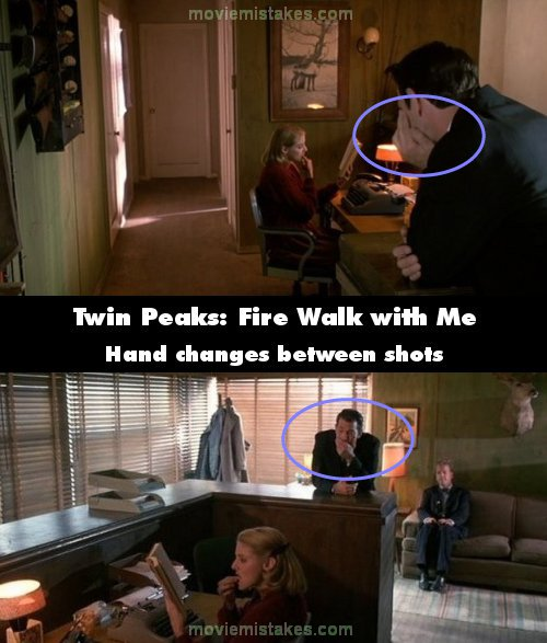Twin Peaks: Fire Walk with Me mistake picture