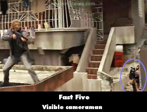 Fast Five mistake picture