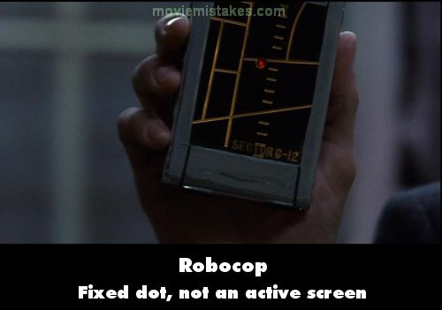 Robocop mistake picture