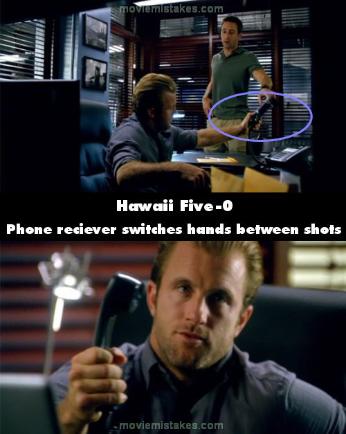 Hawaii Five-0 mistake picture