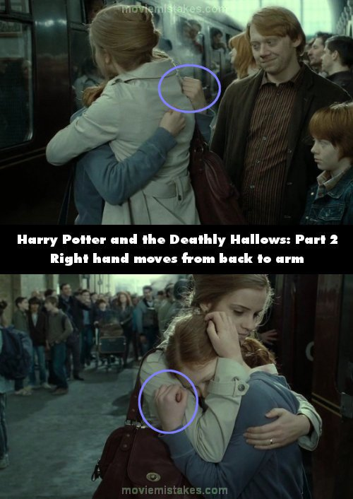 Harry Potter and the Deathly Hallows: Part 2 mistake picture