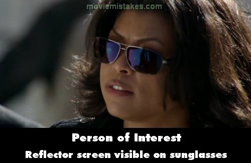 Person of Interest mistake picture