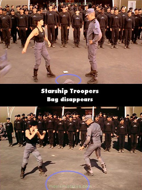 Starship Troopers mistake picture