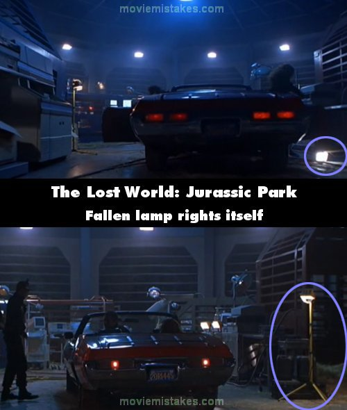 The Lost World: Jurassic Park mistake picture