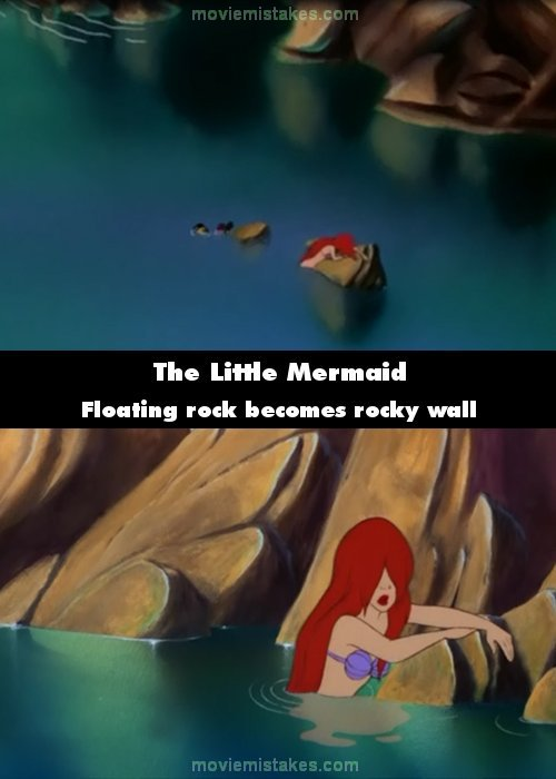 The Little Mermaid 1989 Movie Mistake Picture Id 173298