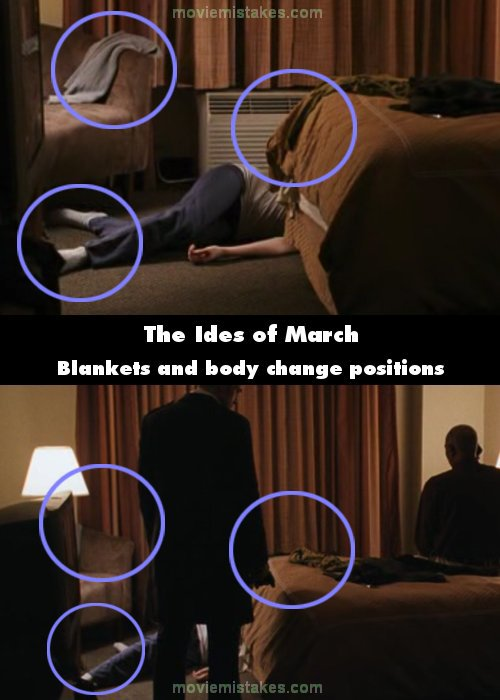 The Ides of March mistake picture
