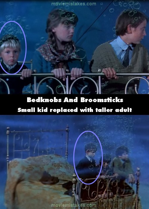 Bedknobs And Broomsticks mistake picture