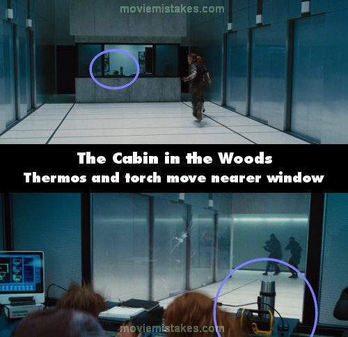 The Cabin In The Woods 2012 Movie Mistake Picture Id 174108