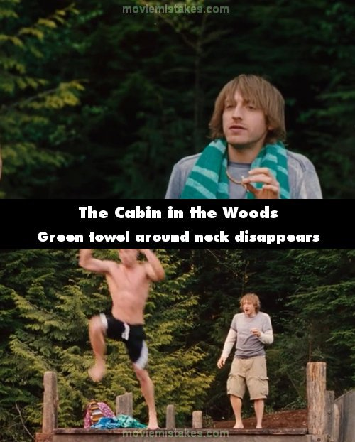 The Cabin in the Woods mistake picture